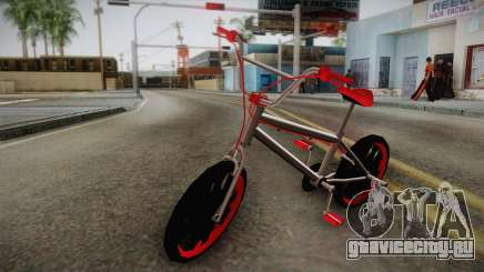 Dark Red BMX для GTA San Andreas
