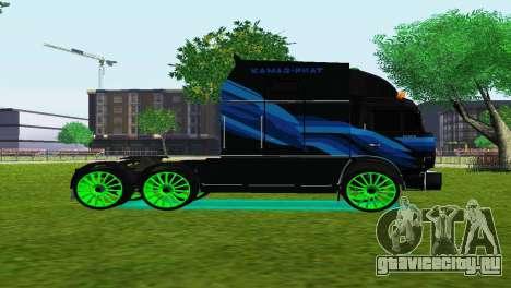 КамАЗ 54112 RIAT для GTA San Andreas вид слева