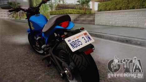 GTA 5 Pegassi Esskey для GTA San Andreas вид сзади слева