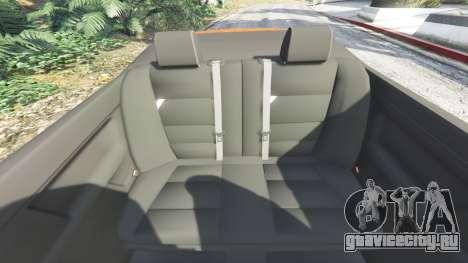 BMW 328i (E36) M-Sport v1.1 [replace] для GTA 5 руль и приборная панель