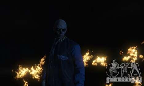 Suicide Squad El Diablo для GTA 5 четвертый скриншот