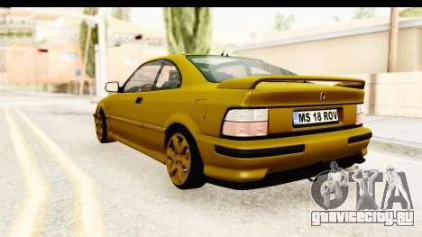 Rover 220 Gold Edition для GTA San Andreas вид слева