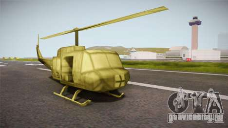 Bell UH-1H from Army Men: Serges Heroes 2 DC для GTA San Andreas