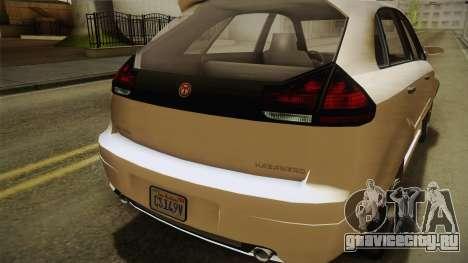 GTA 5 Emperor Habanero IVF для GTA San Andreas вид сбоку