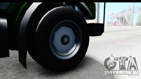 GTA 5 Stockade v1 IVF для GTA San Andreas вид сзади