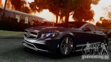 Mercedes-Benz S-Class Coupe AMG для GTA San Andreas вид слева