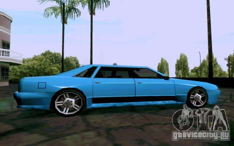 Elegy Sedan для GTA San Andreas вид слева