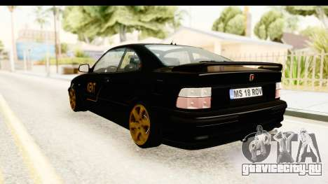Rover 220 Kent Edition для GTA San Andreas вид слева