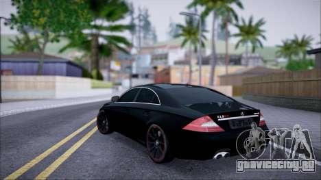 Mercedes-Benz Cls 630 для GTA San Andreas вид слева