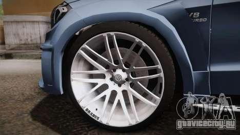 Mercedes-Benz GL63 Brabus для GTA San Andreas вид сзади