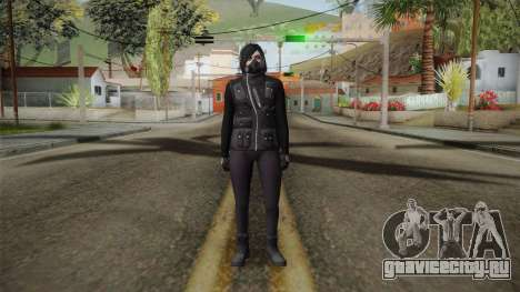 GTA 5 Heists DLC Female Skin 1 для GTA San Andreas второй скриншот