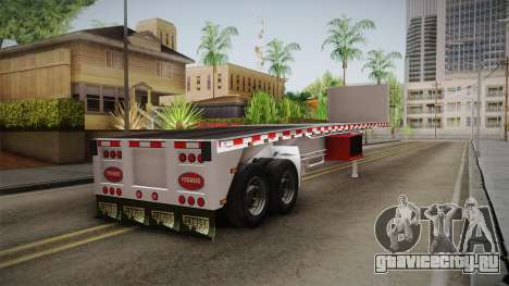 Trailer Americanos v1 для GTA San Andreas вид слева