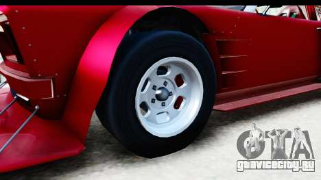 GTA 5 Declasse Tampa Drift IVF для GTA San Andreas вид сзади