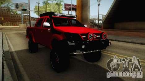 Toyota Hilux 2010 Venezolana de Off Road для GTA San Andreas вид справа