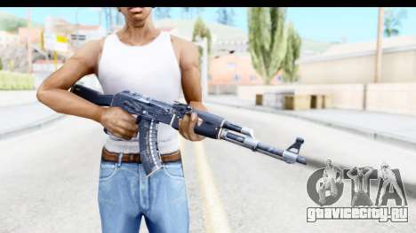 AK-47 Elite Build для GTA San Andreas третий скриншот
