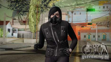 GTA 5 Heists DLC Female Skin 1 для GTA San Andreas