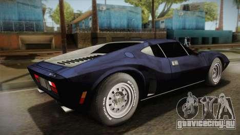 AMC AMX 3 39 1970 для GTA San Andreas вид слева
