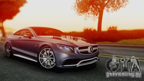 Mercedes-Benz S-Class Coupe AMG для GTA San Andreas