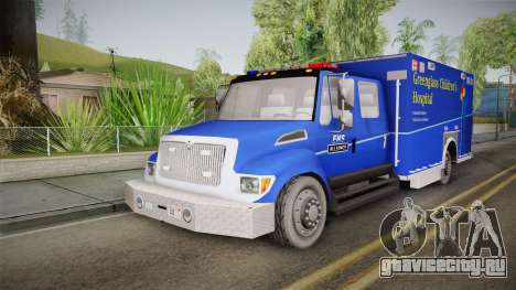 International Terrastar Ambulance 2014 для GTA San Andreas