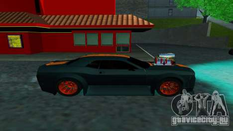 DODGE CHALLENGER SRT8 POWER для GTA San Andreas вид слева