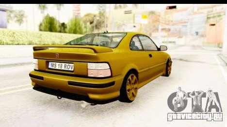 Rover 220 Gold Edition для GTA San Andreas вид справа