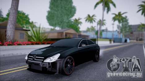 Mercedes-Benz Cls 630 для GTA San Andreas вид изнутри