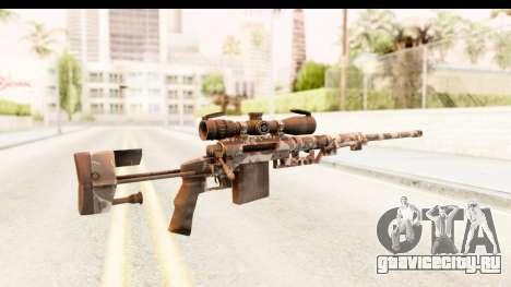 Cheytac M200 Intervention Skull для GTA San Andreas второй скриншот