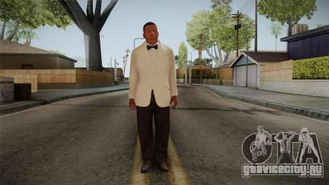 GTA 5 Franklin Tuxedo v1 для GTA San Andreas второй скриншот