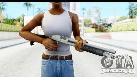 Tactical Mossberg 590A1 Chrome v2 для GTA San Andreas третий скриншот