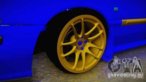 Rover 220 Bozgor Edition для GTA San Andreas вид сзади