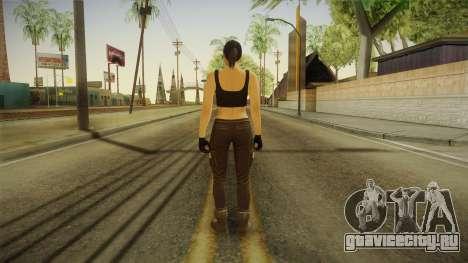 GTA 5 Heists DLC Female Skin 2 для GTA San Andreas третий скриншот
