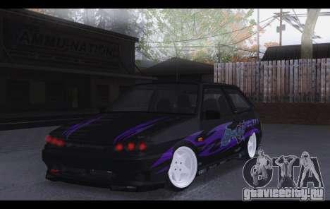 VAZ 2113 Zenki для GTA San Andreas вид слева