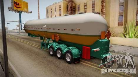 Trailer Brasil v1 для GTA San Andreas вид сзади слева