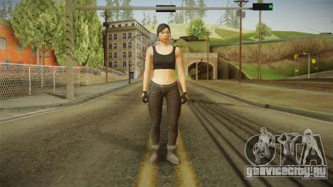 GTA 5 Heists DLC Female Skin 2 для GTA San Andreas второй скриншот