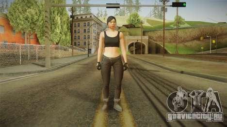 GTA 5 Heists DLC Female Skin 2 для GTA San Andreas второй скриншот
