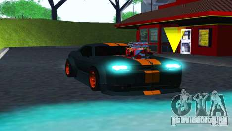 DODGE CHALLENGER SRT8 POWER для GTA San Andreas