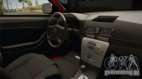 Toyota Hilux 2010 Venezolana de Off Road для GTA San Andreas вид изнутри