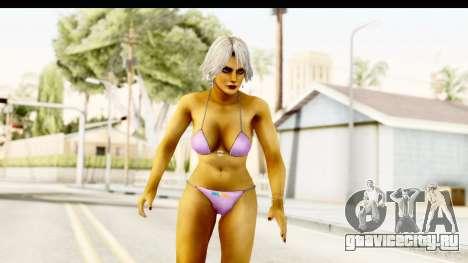 Christie in Rio v2 для GTA San Andreas