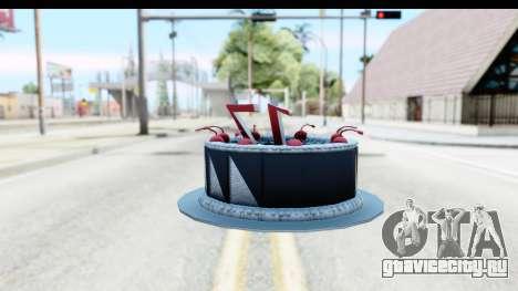Han Farhan Cake Grenade для GTA San Andreas второй скриншот