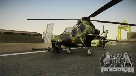 Eurocopter Tiger Extra Skin для GTA San Andreas