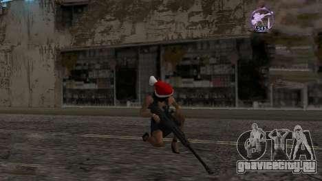 Heavysniper rifle для GTA San Andreas второй скриншот