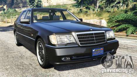 Mercedes-Benz W140 AMG [replace] для GTA 5