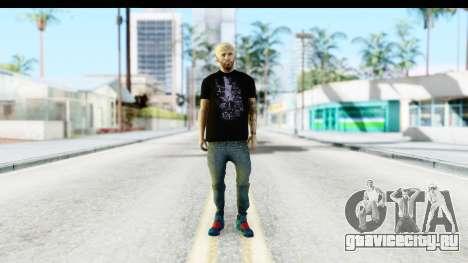 Blonde Messi для GTA San Andreas второй скриншот