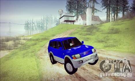 Mitsubishi Pajero 3 Beta для GTA San Andreas