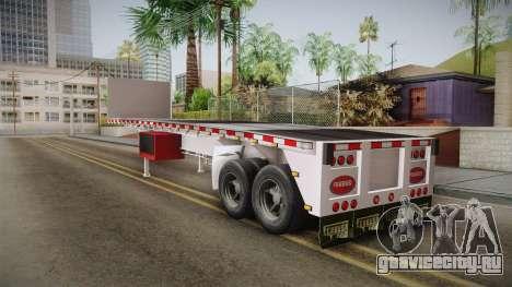 Trailer Americanos v1 для GTA San Andreas вид справа