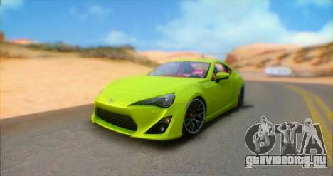 Toyota GT86 2015 Stance для GTA San Andreas