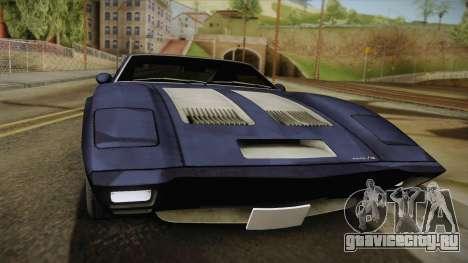 AMC AMX 3 39 1970 для GTA San Andreas вид сзади слева