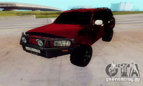 Toyota Land Cruiser 105 для GTA San Andreas