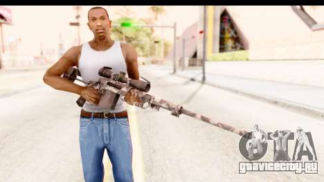 Cheytac M200 Intervention Skull для GTA San Andreas третий скриншот