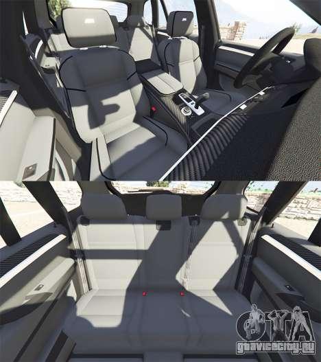 BMW X5 M (E70) 2013 v1.2 [add-on] для GTA 5 руль и приборная панель